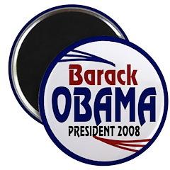 Barack Obama for President 2008 (Magnet)