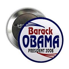 Barack Obama President 2008 (10 buttons)