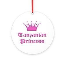 Tanzanian Princess Ornament (Round)
