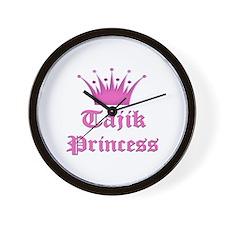 Tajik Princess Wall Clock