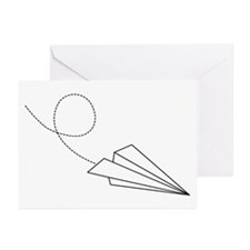 Paper Plane Greeting Cards (Pk of 10)