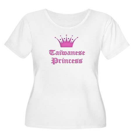 Taiwanese Princess Women's Plus Size Scoop Neck T-