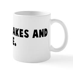 No more cakes and ale Mug