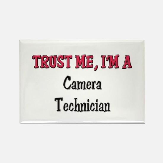 Trust Me I'm a Camera Technician Rectangle Magnet