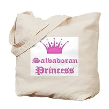 Salvadoran Princess Tote Bag