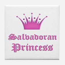 Salvadoran Princess Tile Coaster