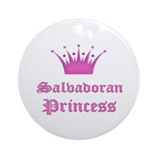 Salvadoran Princess Ornament (Round)