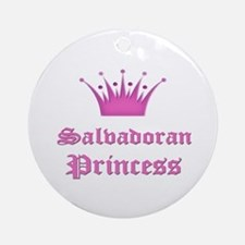 Salvadoran Princess Ornament (Round)