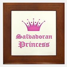 Salvadoran Princess Framed Tile