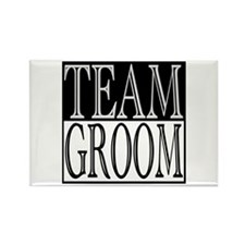 Team Groom -- Wedding Day Rectangle Magnet (10 pac