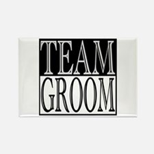 Team Groom -- Wedding Day Rectangle Magnet