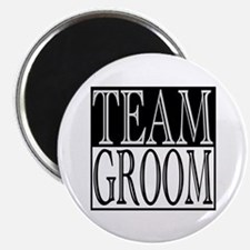 "Team Groom -- Wedding Day 2.25"" Magnet (10 pack)"