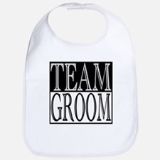 Team Groom -- Wedding Day Bib