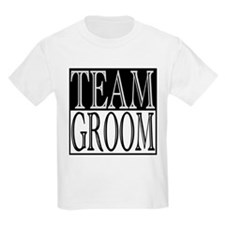 Team Groom -- Wedding Day T-Shirt