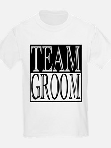 Team Groom -- Wedding Day T-Shirt