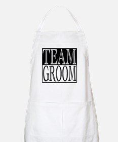 Team Groom -- Wedding Day BBQ Apron