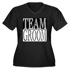 Team Groom -- Wedding Day Women's Plus Size V-Neck