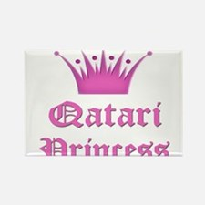 Qatari Princess Rectangle Magnet