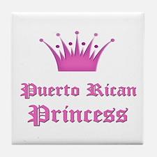 Puerto Rican Princess Tile Coaster
