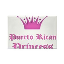 Puerto Rican Princess Rectangle Magnet