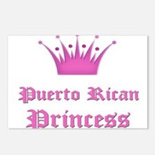 Puerto Rican Princess Postcards (Package of 8)