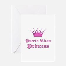 Puerto Rican Princess Greeting Card