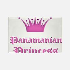 Panamanian Princess Rectangle Magnet