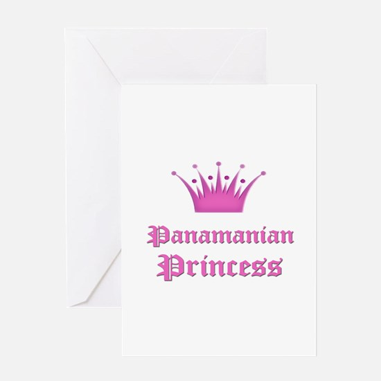 Panamanian Princess Greeting Card