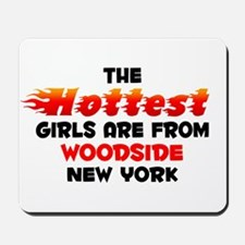 Hot Girls: Woodside, NY Mousepad
