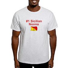 #1 Sicilian Nonno T-Shirt
