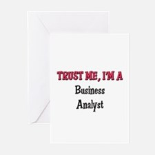 Trust Me I'm a Business Analyst Greeting Cards (Pk