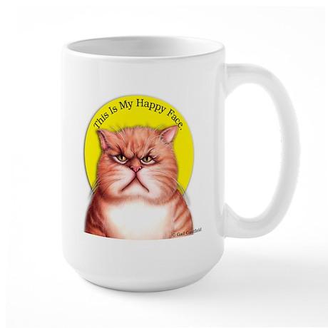 Happy Face Large Mug