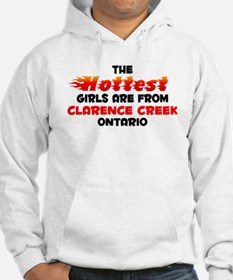 Hot Girls: Clarence Cre, ON Jumper Hoody
