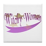 Witchy Woman Tile Coaster