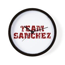 Team Sanchez Wall Clock