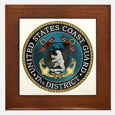 17th District USCG Framed Tile