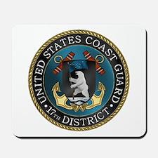 17th District USCG Mousepad