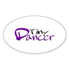 Tiny Dancer Oval Decal