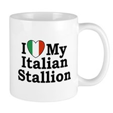 I Love My Italian Stallion Mug