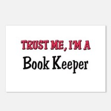 Trust Me I'm a Book Keeper Postcards (Package of 8