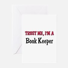 Trust Me I'm a Book Keeper Greeting Cards (Pk of 1