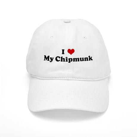 I Love My Chipmunk Cap