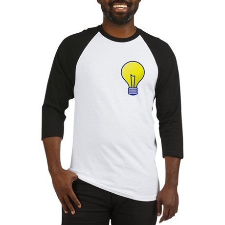 Bright Idea Light Bulb Baseball Jersey