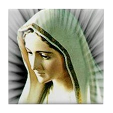 Cool Fatima Tile Coaster