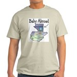 NEW! Baby Abroad Blues Ash Grey T-Shirt