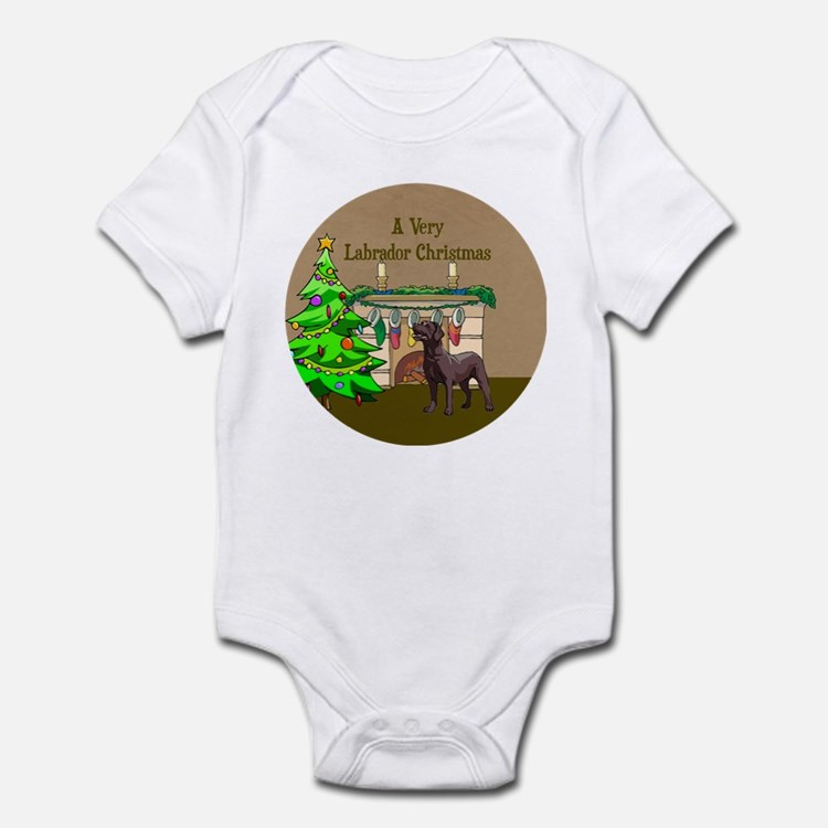 A Very Labrador Christmas Infant Bodysuit