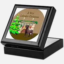 A Very Labrador Christmas Keepsake Box