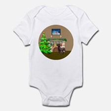 Labrador Christmas Infant Bodysuit