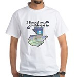 NEW! I found my children White T-Shirt