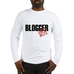 Off Duty Blogger Long Sleeve T-Shirt